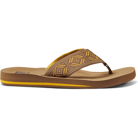 Reef Spring Woven Sandals Women, saffron